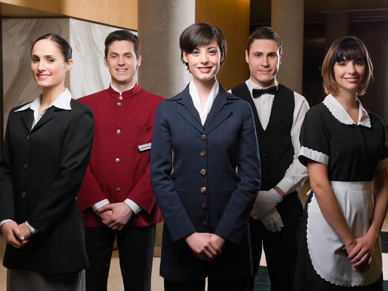 Hotel uniformen