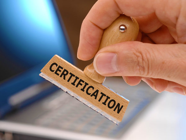 Certifications & Accreditation